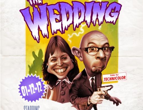 Evlilik Davetiyesi için 3D Lenticular Baskı