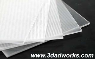 3D Lenticular baskı tekniği kadar malzeme kaliteside bir o kadar ön plandadır.
