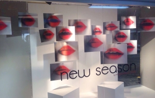 Collezione için yapılmış üç boyutlu animasyon mağaza dekorasyon çalışması.