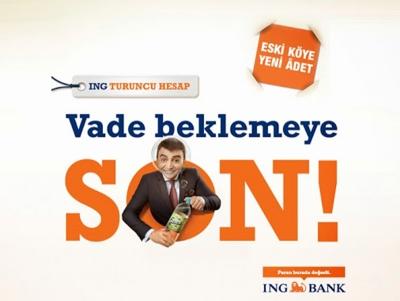 ing bank 3D poster